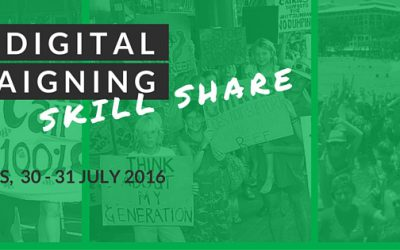 Cairns Digital Campaigning Skill Share
